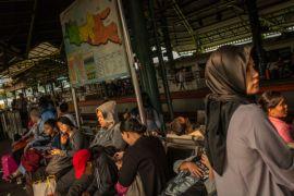 100.091 pemudik sudah berangkat dari Gambir