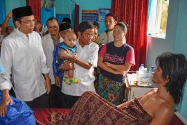 Korban gempa Lombok butuh tempat berteduh