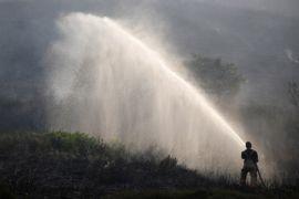 Kebakaran hutan picu evakuasi di California