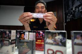 Akibat rokok ilegal,  Riau rugi Rp13 miliar