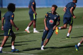 Neymar kembali latihan setelah cedera pergelangan kaki pulih