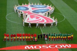 Klasemen Piala Dunia Senin pagi