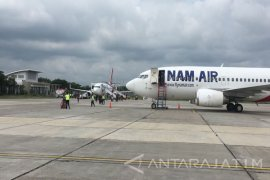 Bandara Banyuwangi tetap beroperasi pascaerupsi Gunung Agung