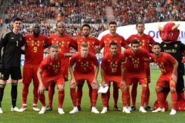 Belgia unggul sementara 3-1 atas Tunisia