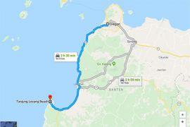 Macet, Tanjung Lesung-Cilegon 8 jam