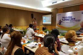 "50 Pelaku IKM Gianyar ikuti ""workshop e-smart"""