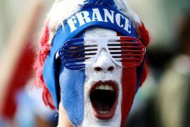 Prancis singkirkan Argentina dalam galeri foto Piala Dunia