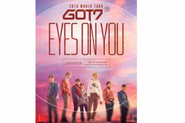 Tiket konser GOT7 di Indonesia masih tersedia