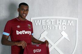 West Ham pecahkan rekor transfer klub rekrut Diop