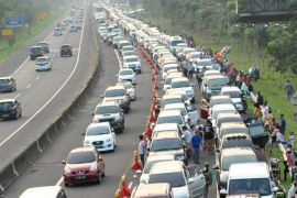 Polres Bogor: Antrian kendaraan hingga tiga kilometer