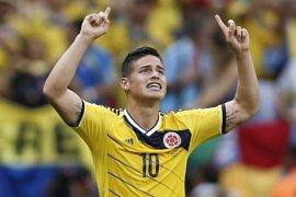 Pelatih Kolombia Prihatin Cedera James Rodriguez