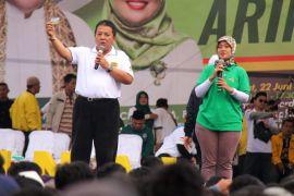 Hasil pilgub Lampung, Arinal-Nunik menang