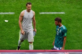 Tiga hal di balik tersingkirnya Jerman dari Piala Dunia