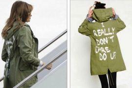 Melania Trump kunjungi fasilitas penahanan anak-anak imigran