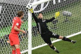 Kiprah kiper Tunisia hassen di Piala Dunia 2018 berakhir