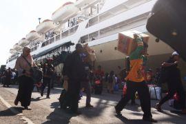 2.500 pemudik Lebaran berlayar dari Tanjung Priok