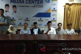"""Hasil hitung cepat """"Faham"""" unggul di Pilkada Kota Sukabumi"""