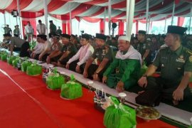 Pangdam kunjungi SAD dan Safari Ramadhan di Jambi