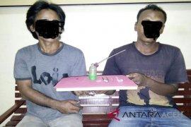 Polisi tangkap dua pengedar sabu di Aceh Utara