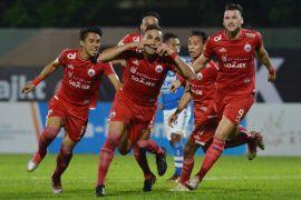 Persija tahan imbang Arema FC 1-1
