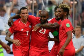 Panama memimpin 1-0 atas Tunisia di babak pertama