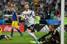 Jerman menang dramatis atas Swedia