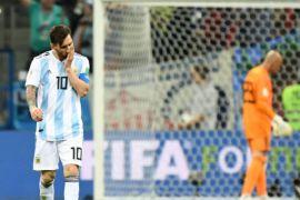 Klasemen Piala Dunia Grup D: Argentina terbawah, Nigeria kedua