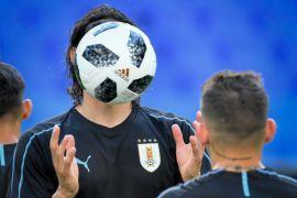Hadapi tuan rumah, Uruguay ganti skema