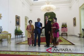 Presiden sambut PM Mahathir di Istana Bogor