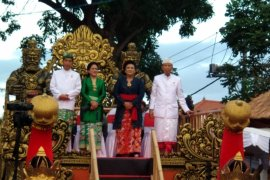 Jokowi opens the 40th Bali Art Festival