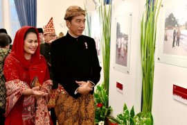 Mbak Puti Dampingi Jokowi di Pameran Hari Lahir Pancasila