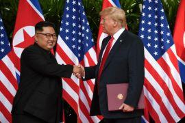 Biaya temu Donald Trump-Kim Jong-un 16,3 juta dolar Singapura