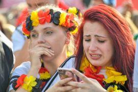 Kekalahan Jerman dalam galeri foto Piala Dunia