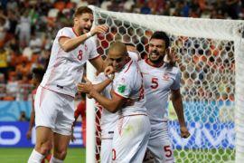 Tunisia raih kemenangan pertama setelah 40 tahun