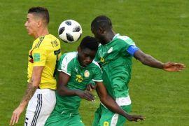 Libas Senegal, Kolombia ke 16 besar