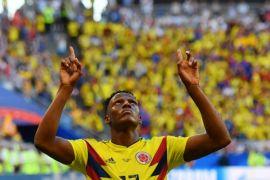 Kolombia pulangkan Senegal dalam galeri foto Piala Dunia