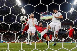 Piala Dunia - VAR Selamatkan Wajah Spanyol Dari Kekalahan Dan Antar Jadi Juara Grup