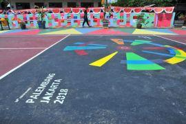 """Ribuan warga Palembang ramaikan """"fun run"""" Asian Games"""