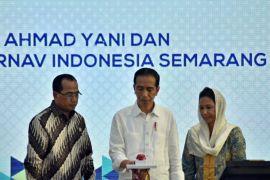 Presiden Jokowi resmikan terminal baru Bandara Semarang