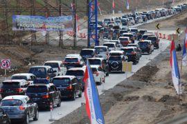 Arus kendaraan meningkat di Tol Ngemplak Boyolali