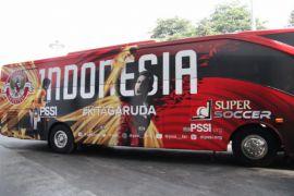 PSSI punya dua bus baru untuk timnas Asian Games