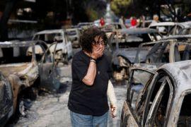 25 orang belum ditemukan setelah kebakaran hutan di Yunani