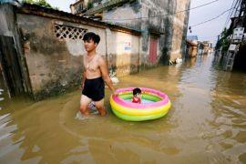 16 tewas, empat orang hilang akibat banjir di Vietnam