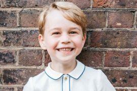 Pangeran George rayakan ulang tahun kelima