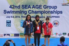 Adinda cetak dua rekor di Filipina