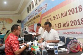 KPU Kalsel gugurkan seorang bakal calon DPD