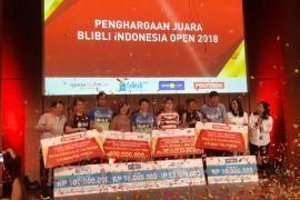 Para juara Indonesia Open diguyur bonus ratusan juta