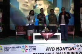 Kemenpora manfaatkan momen final Piala Dunia untuk promosi Asian Games