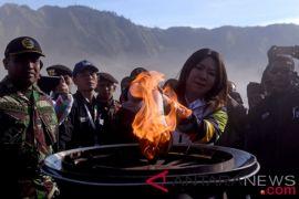 Pawai obor Asian Games diharapkan tingkatkan kunjungan wisata Bromo