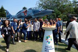 Api obor Asian Games 2018 lintasi kota pertama